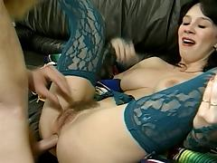 Assfucking, Anal, Assfucking, Hairy, Lingerie, Vintage