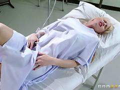 Doctor, Asshole, Blowjob, Bra, Close Up, Couple