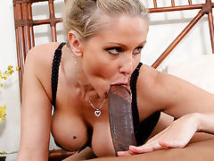 Julia Ann - My Mother loves brothas!