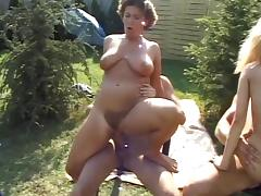 outdoor group sex