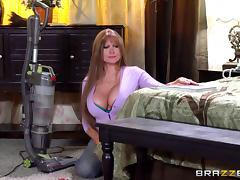 Mom and Boy, Big Tits, Blowjob, Boobs, Couple, Cowgirl