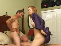 Bisexual, Bisexual, Blowjob, Mature, MMF, Threesome