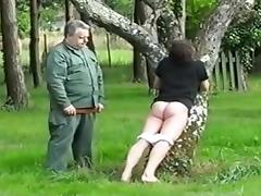 Military Training - Spanking