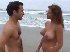 Beach, Beach, Fucking, Mature, MILF, Beach Sex
