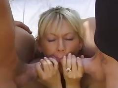 Blonde MILF Chenin analized and double penetrated