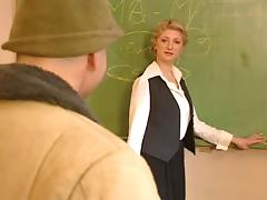 Teacher, Blonde, Teacher, Hungarian, Tits