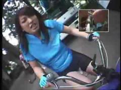 Biker, Amateur, Asian, Biker, Dildo, Oriental