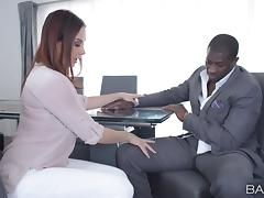 Office, Boss, Couple, Hardcore, Interracial, Office
