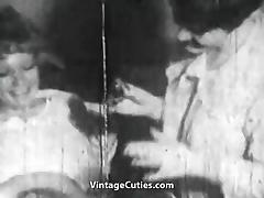 1950, Classic, Fingering, Hairy, Lesbian, Lick
