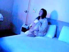 Korean couple having sex in th Hotel