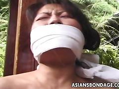 Asian Granny, Asian, Bondage, Bound, Cougar, Japanese