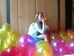 Balloon, Balloon, Fetish, Sex, Teen
