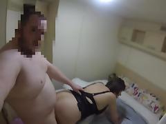 Escort fucks bareback and gets creampied