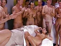 Bukkake, Banging, Big Cock, Big Tits, Blonde, Blowjob