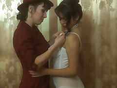 Evie Delatosso & Ashlyn Rae & RayVeness in Pin-Up Girls #02, Scene #03