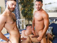 Mario Costa & Tommy Defendi & Braxton Smith in Top Affair Part 3 Video