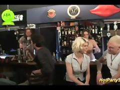 Bar, Amateur, Banging, Bar, Bukkake, Gangbang