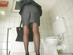 Office, Dildo, Masturbation, Office, Secretary, Toys