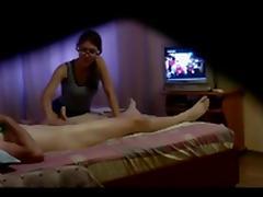Massage, Cumshot, Friend, Handjob, Massage, Voyeur