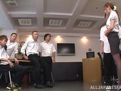 Teacher, Babe, Japanese, Orgy, Pantyhose, Teacher