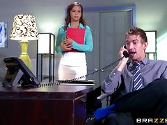 Office, Blowjob, Boss, Couple, Hardcore, HD