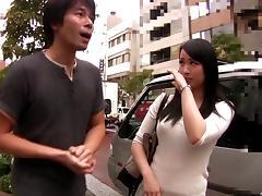Japanese, Asian, Boobs, Car, Couple, Cunt
