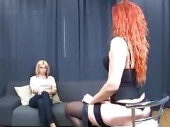 redhead vs blonde tribbing