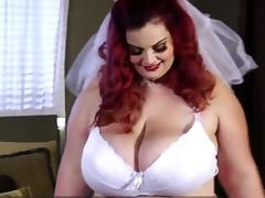 Bride, BBW, Bride, Chubby, Chunky, Fat