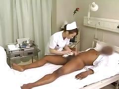 CFNM, Asian, CFNM, Femdom, Nurse, Penis