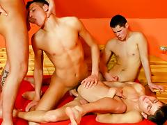 Danko Bell, James Jones (A), Roberto A, Dark Devil XXX Video