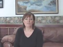 Hubby films mature wife with BBC