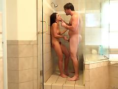 Bathroom, Bath, Bathing, Bathroom, Bed, Couple