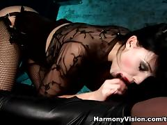 Aletta Ocean in Curvaceous Dp Action - HarmonyVision