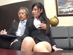 Office, Asian, Boss, Couple, Hardcore, Japanese