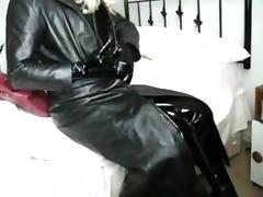 Enjoying the full leather