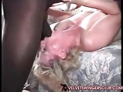 Velvet Swingers Club Interracial party Wife gangbanges hard