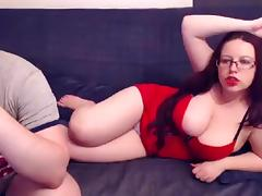 BBW, BBW, Big Tits, Couple, Mature, Webcam