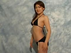 Bikini, Asian, Bikini, Blowjob, Couple, Doggystyle