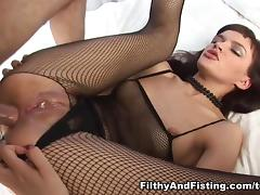 Nikki in Russian Babe Loves Anal Fisting - FilthyAndFisting