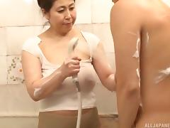 Bathing, Asian, Bath, Bathing, Bathroom, BBW