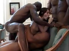Gangbang interracial