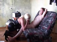 Mature russian transvestite