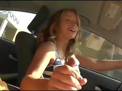 Car, Amateur, Blowjob, Car, Handjob, Sucking