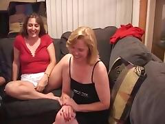 French, Blonde, Blowjob, French, Mature, Swingers
