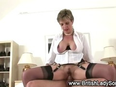 Son, Aged, BDSM, British, Cougar, Cum