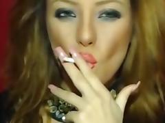 Smoking On Cam
