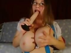 Giant natural tits milf 2