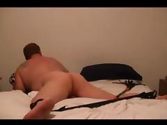 Playing with his ass