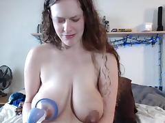 Lactating lady