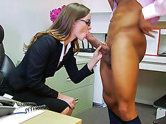 Tali Dova in Tali Dova's long hard day at work - MonstersOfCock